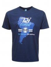 Camiseta Mapa Tri Am�rica