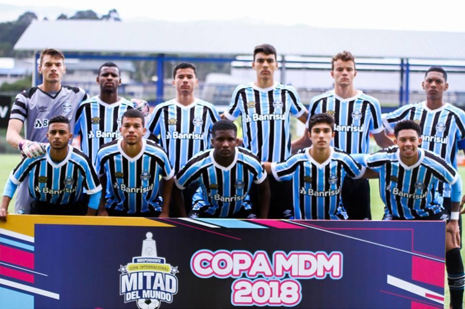 1ae54db286 Grêmio bate o Red Bull Brasil e decide o título da Copa Mitad Del Mundo  Sub-18