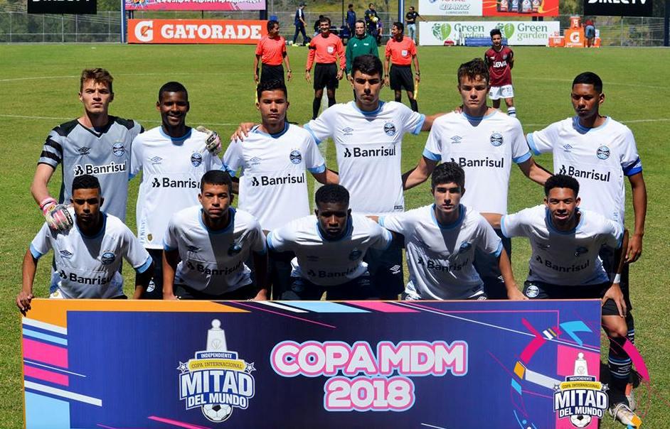 d817d7a75d Grêmio bate o Talleres-ARG e está nas semifinais da Copa Mitad del Mundo  Sub-18