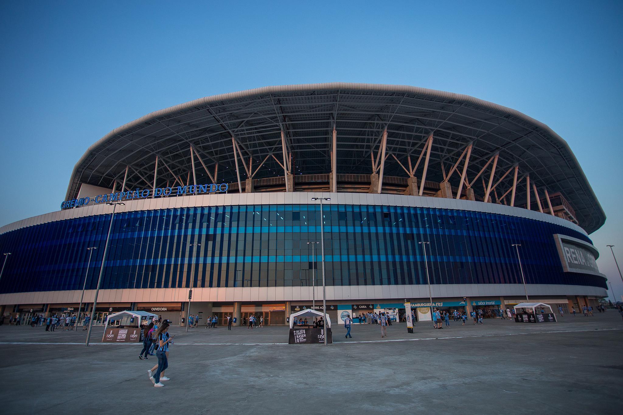 Grêmio busca aprovar projeto que visa diminuir o engarrafamento após os jogos na Arena