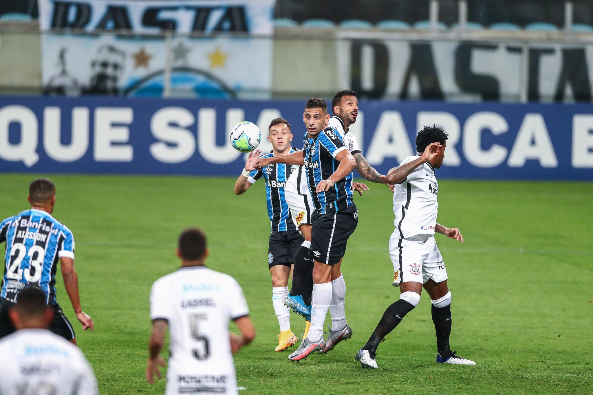 Gremio Empata Sem Gols Com O Corinthians Em Casa Pela 3ª Rodada Do Brasileirao
