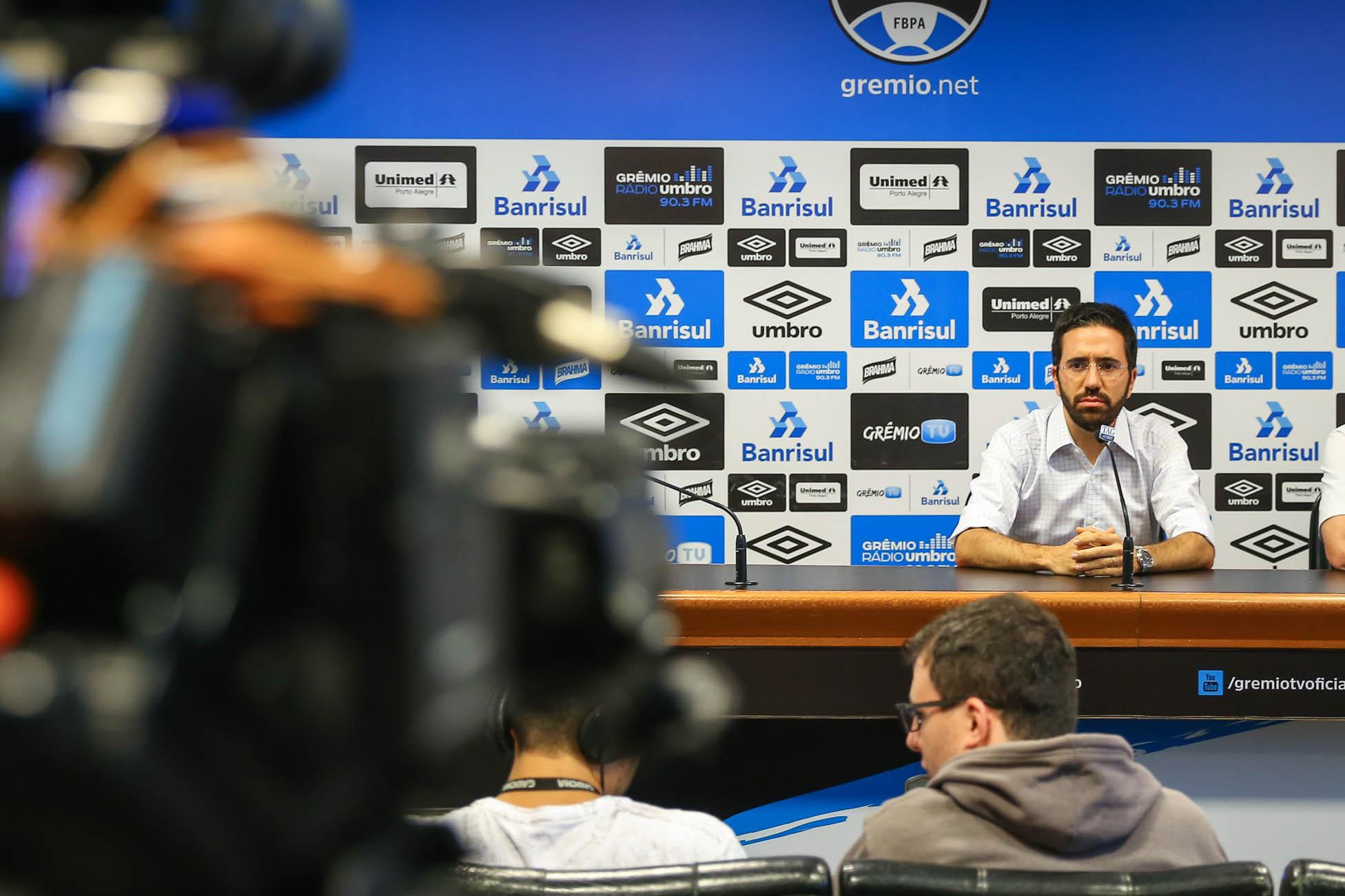 Grêmio oficializa desligamento do gerente-executivo André Zanotta 0b8a672cb87fa
