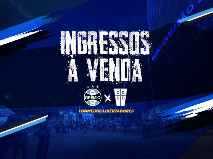 76369f422 Ingressos Grêmio X Universidad Católica