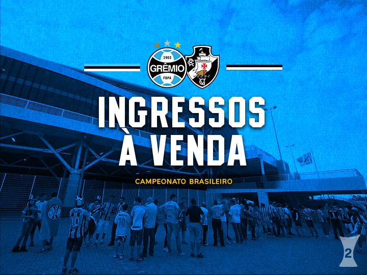 def8ebb58a Ingressos Grêmio X Vasco